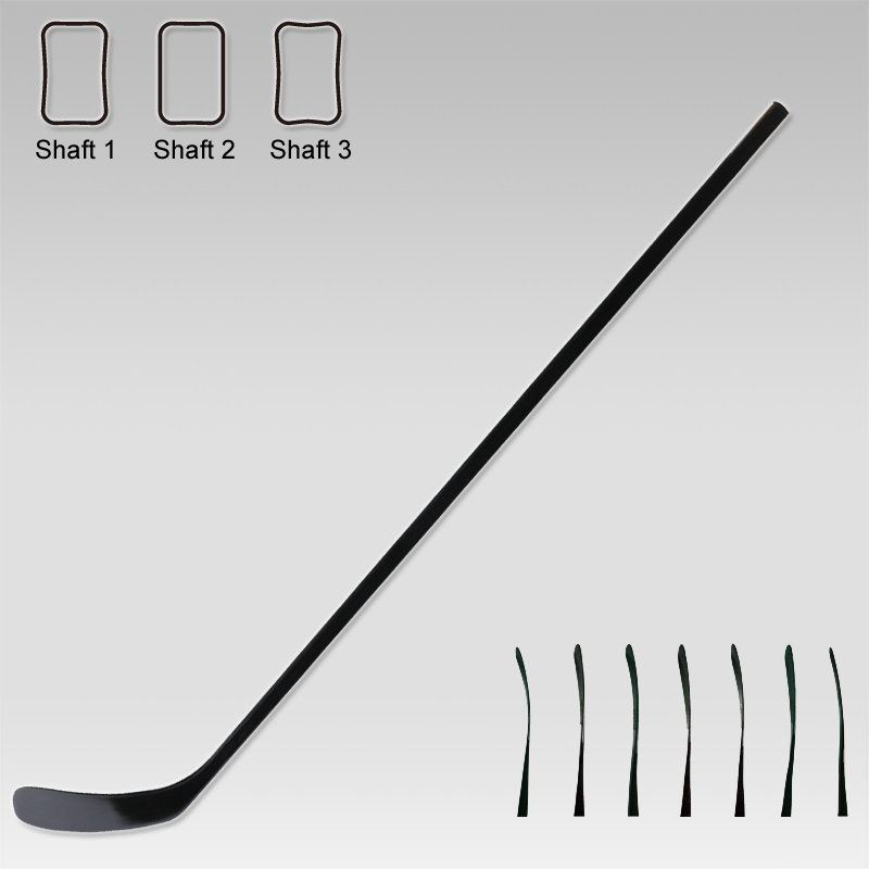 100% Carbon Fiber Intermediate Hocky Stick