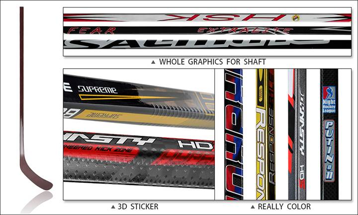 Custom hockey stick-1
