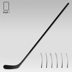 Elliptical Shaft Carbon Fiber Nexus Senior Hockey Stick