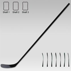 100% Carbon Fiber Affordable Senior Hockey Stick